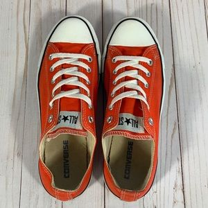 Converse Shoes - Converse All Star Low Orange Men's 8/ Women's 10